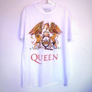 Queen Crest Freddie Mercury T shirt